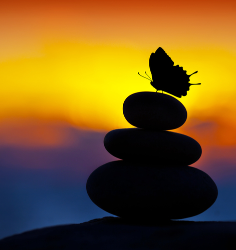 Loving kindness meditation brings about profound peace.